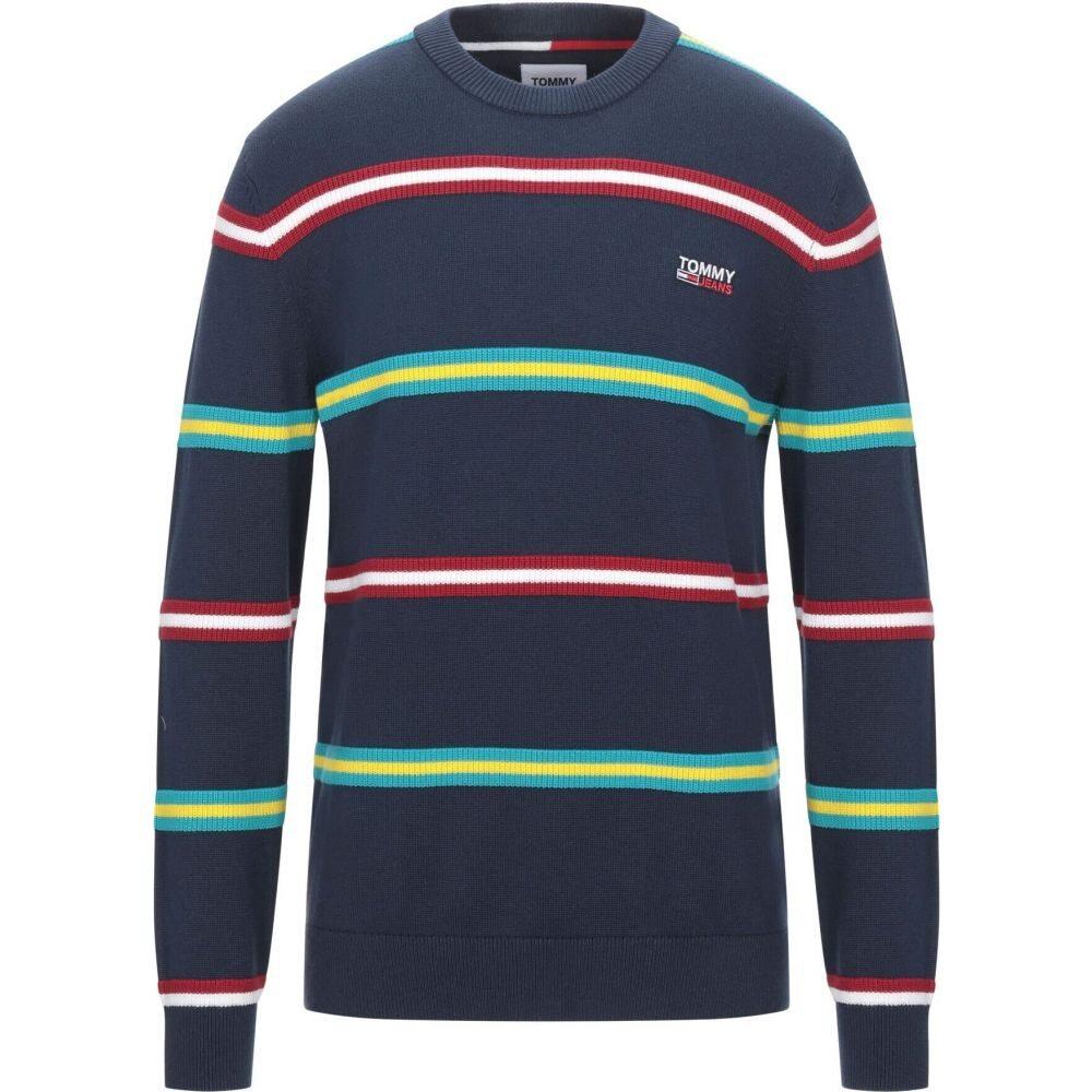 待望 トミー 2020新作 ジーンズ メンズ トップス ニット セーター TOMMY Dark sweater サイズ交換無料 blue JEANS