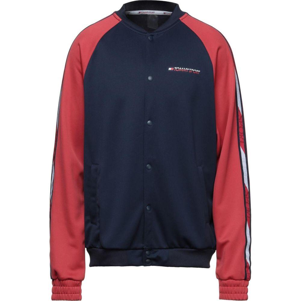 トミーヒルフィガー メンズ トップス スウェット トレーナー 高級な Dark メーカー直送 blue SPORT sweatshirt TOMMY サイズ交換無料