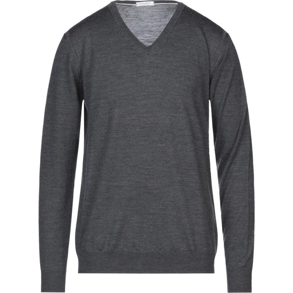 パオロ ふるさと割 ペコラ メンズ トップス ニット セーター PAOLO sweater PECORA サイズ交換無料 格安激安 Lead