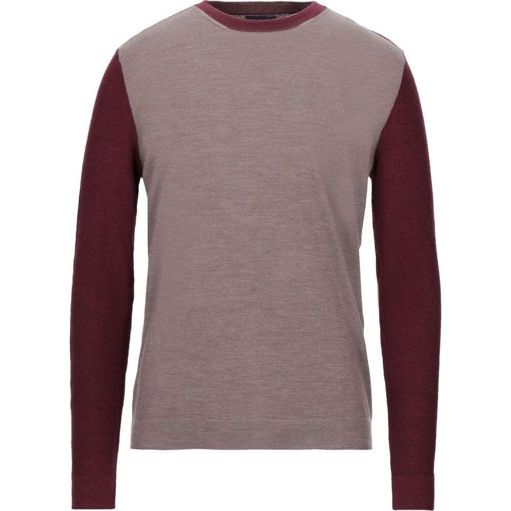 バランタイン メンズ トップス ニット 絶品 ※アウトレット品 セーター Khaki BALLANTYNE サイズ交換無料 sweater