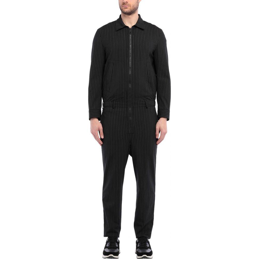 ニール バレット NEIL BARRETT メンズ ツナギ·オールインワン トップス【jumpsuit/one piece】Black