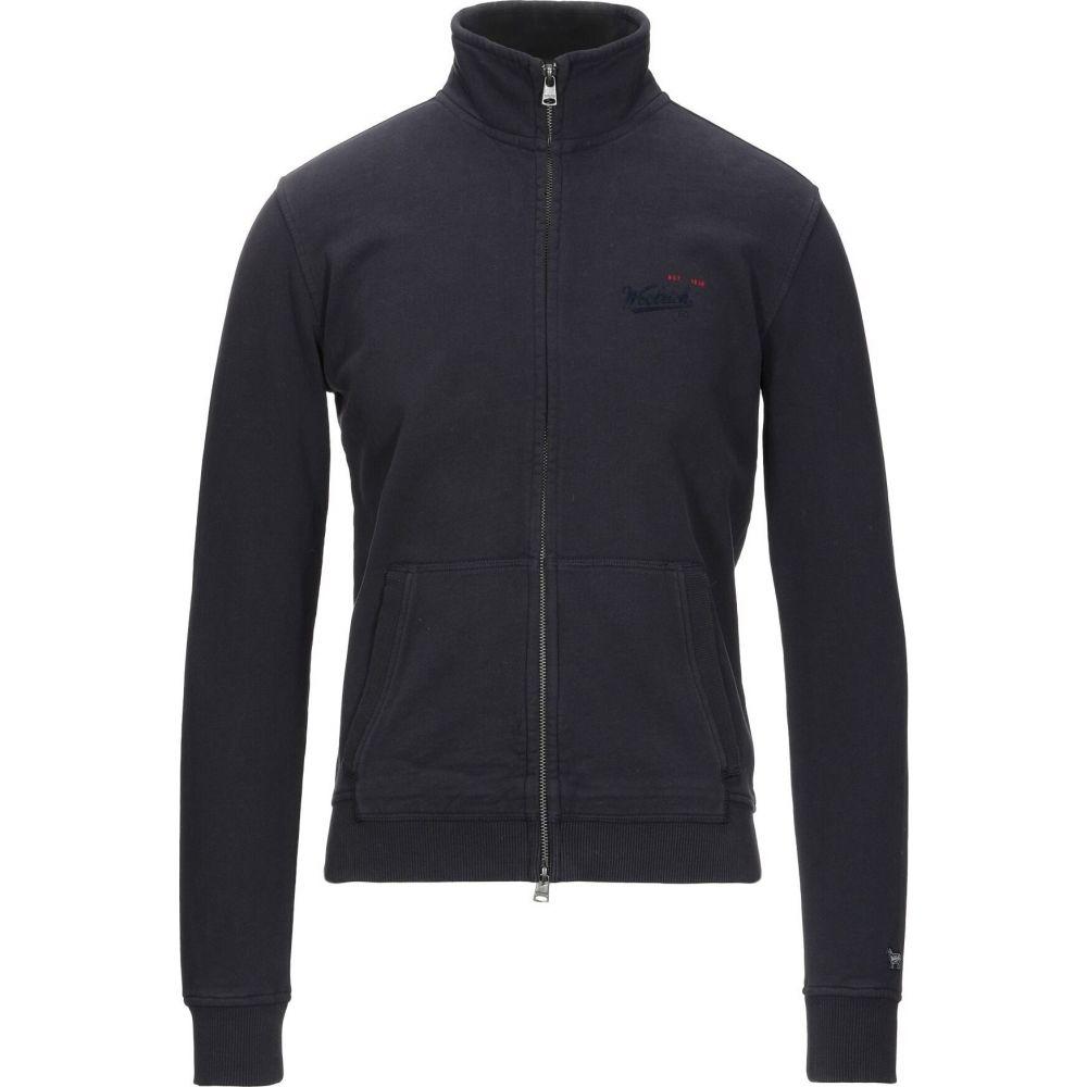 ウールリッチ WOOLRICH メンズ スウェット・トレーナー トップス【sweatshirt】Slate blue