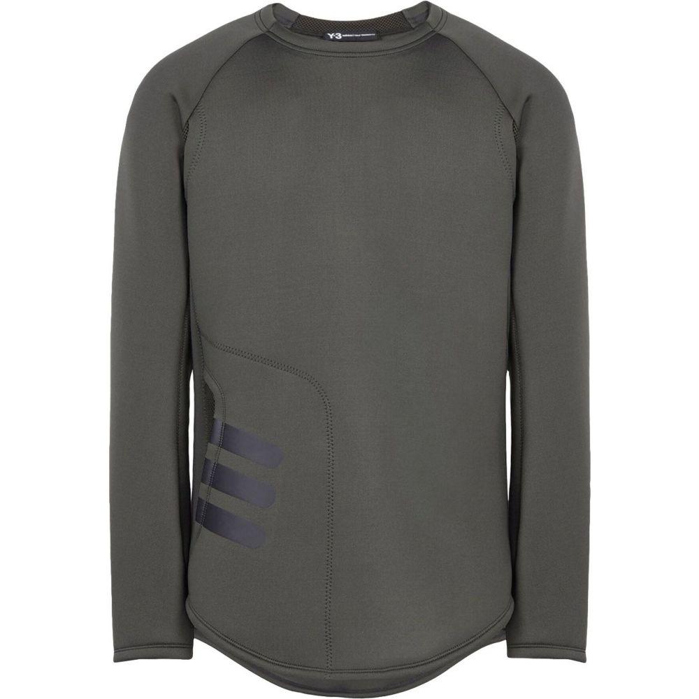 ワイスリー Y-3 メンズ スウェット・トレーナー トップス【sweatshirt】Dark green
