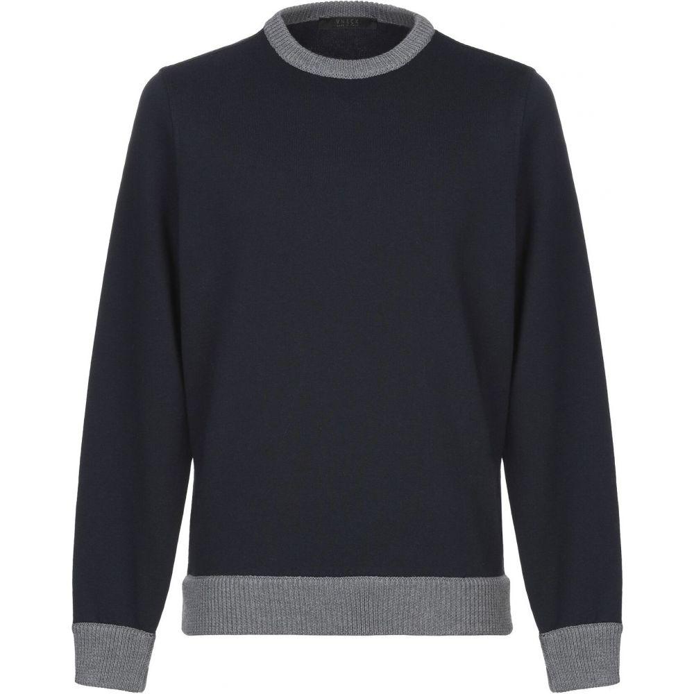 ブイネック VNECK メンズ スウェット・トレーナー トップス【sweatshirt】Dark blue