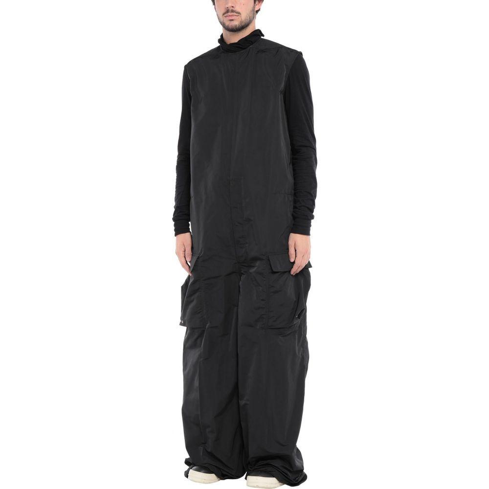 リック オウエンス RICK OWENS メンズ ツナギ・オールインワン トップス【jumpsuit/one piece】Black