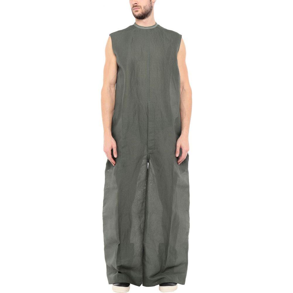 リック オウエンス メンズ トップス ツナギ 18%OFF オールインワン Military green piece jumpsuit RICK OWENS one サイズ交換無料 正規店