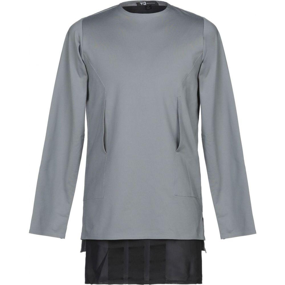 ワイスリー Y-3 メンズ スウェット・トレーナー トップス【sweatshirt】Grey