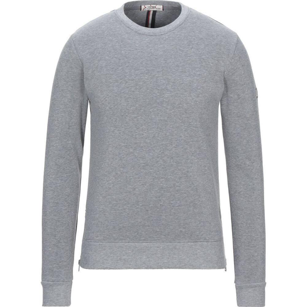 イエスズィー バイ エッセンツァ YES ZEE by ESSENZA メンズ スウェット・トレーナー トップス【sweatshirt】Grey