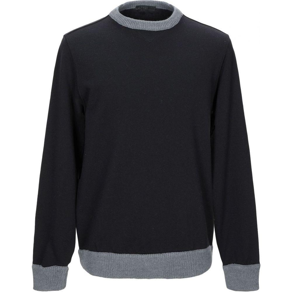 ブイネック VNECK メンズ スウェット・トレーナー トップス【sweatshirt】Black