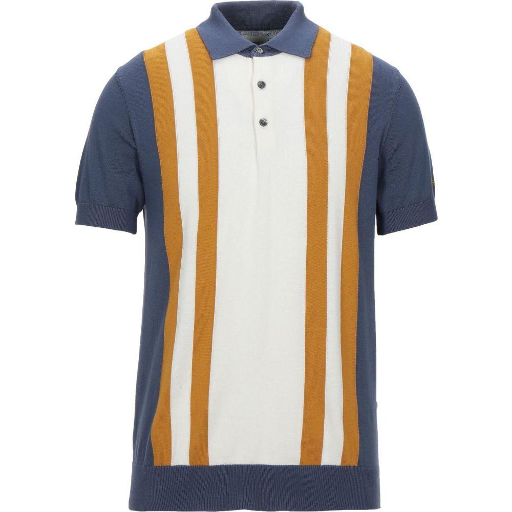 ベンシャーマン セール特別価格 メンズ トップス ニット セーター Pastel blue SHERMAN サイズ交換無料 BEN sweater 通販 激安