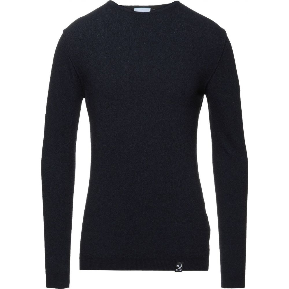 ベルナ メンズ トップス ニット セーター 大決算セール sweater BERNA サイズ交換無料 Dark 希望者のみラッピング無料 blue