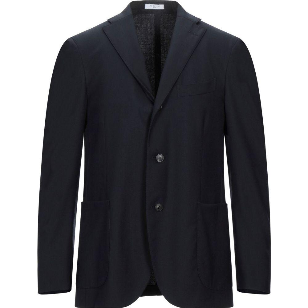 【通販激安】 ボリオリ BOGLIOLI BOGLIOLI メンズ ボリオリ スーツ・ジャケット アウター【blazer メンズ】Dark blue, 碇ヶ関村:982ba51d --- briefundpost.de