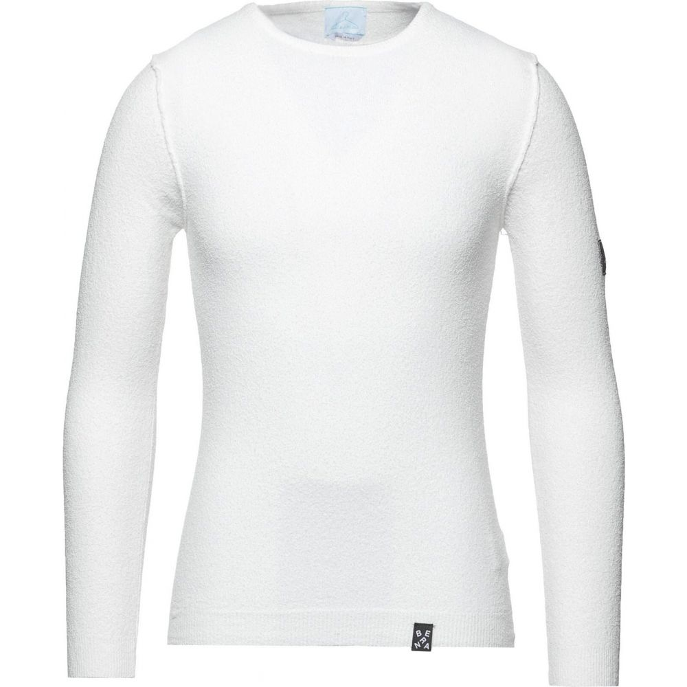 ベルナ メンズ トップス ニット SALE開催中 セーター サイズ交換無料 BERNA セットアップ Ivory sweater