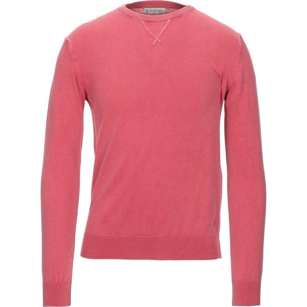 新色 マニュエル リッツ メンズ トップス ニット セーター sweater サイズ交換無料 Coral MANUEL 直営ストア RITZ