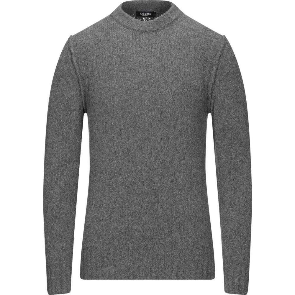 マスク メンズ トップス ニット セール特別価格 セーター サイズ交換無料 Grey +39 売り込み MASQ sweater