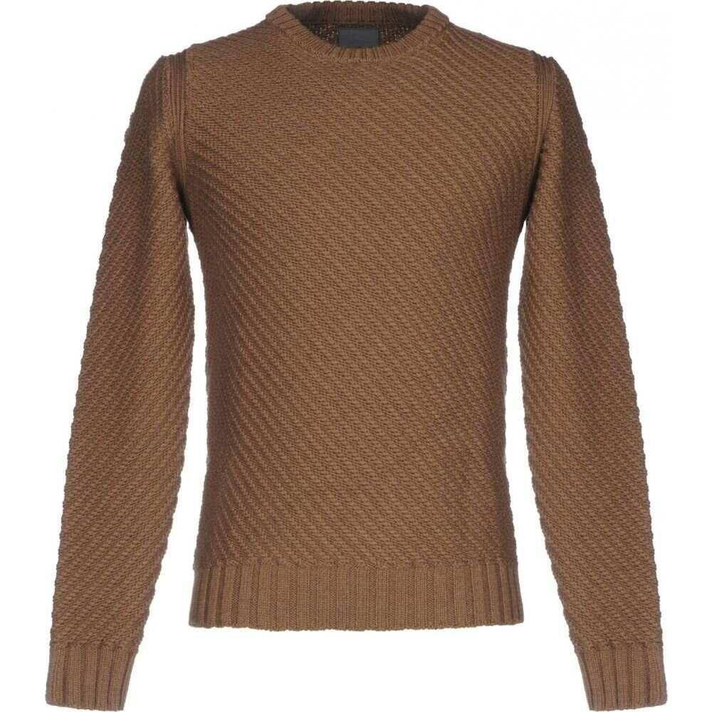 ラネウス メンズ トップス ニット 1着でも送料無料 セーター sweater Camel サイズ交換無料 LANEUS チープ