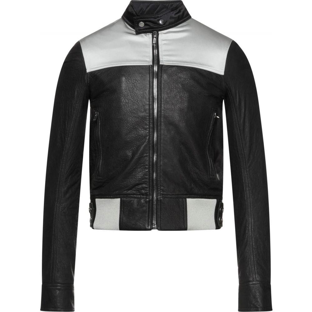 激安商品 リック オウエンス RICK OWENS メンズ レザージャケット ライダース アウター【biker jacket】Black, 菖蒲町 baede933