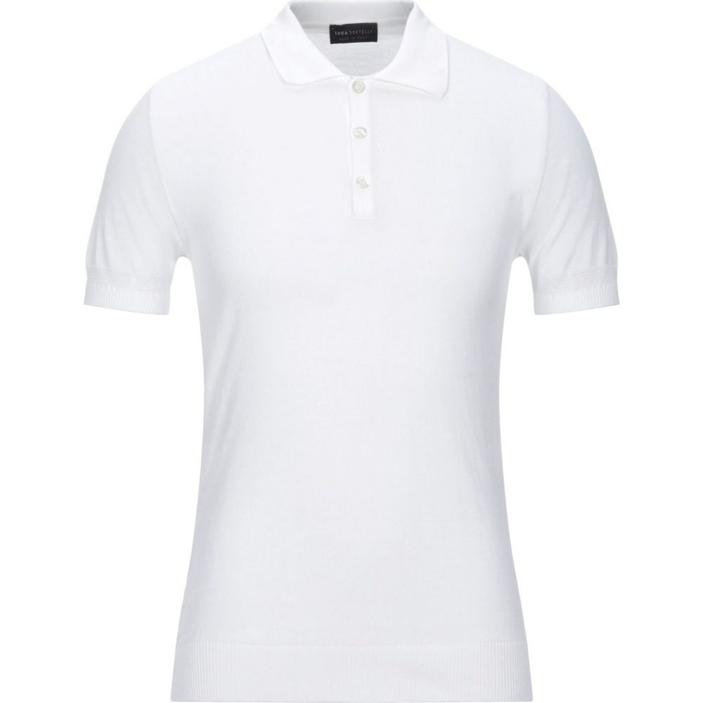 安心と信頼 ルカ バーテリ メンズ トップス ニット セーター サイズ交換無料 ふるさと割 White sweater LUCA BERTELLI