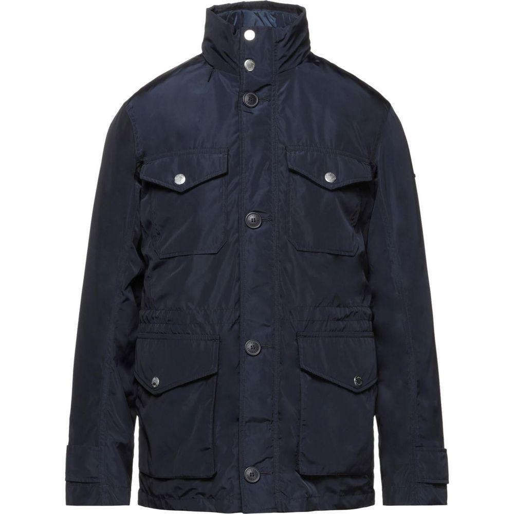 通信販売 アルマーニ メンズ アウター ジャケット Dark サイズ交換無料 blue ARMANI EXCHANGE jacket 完売