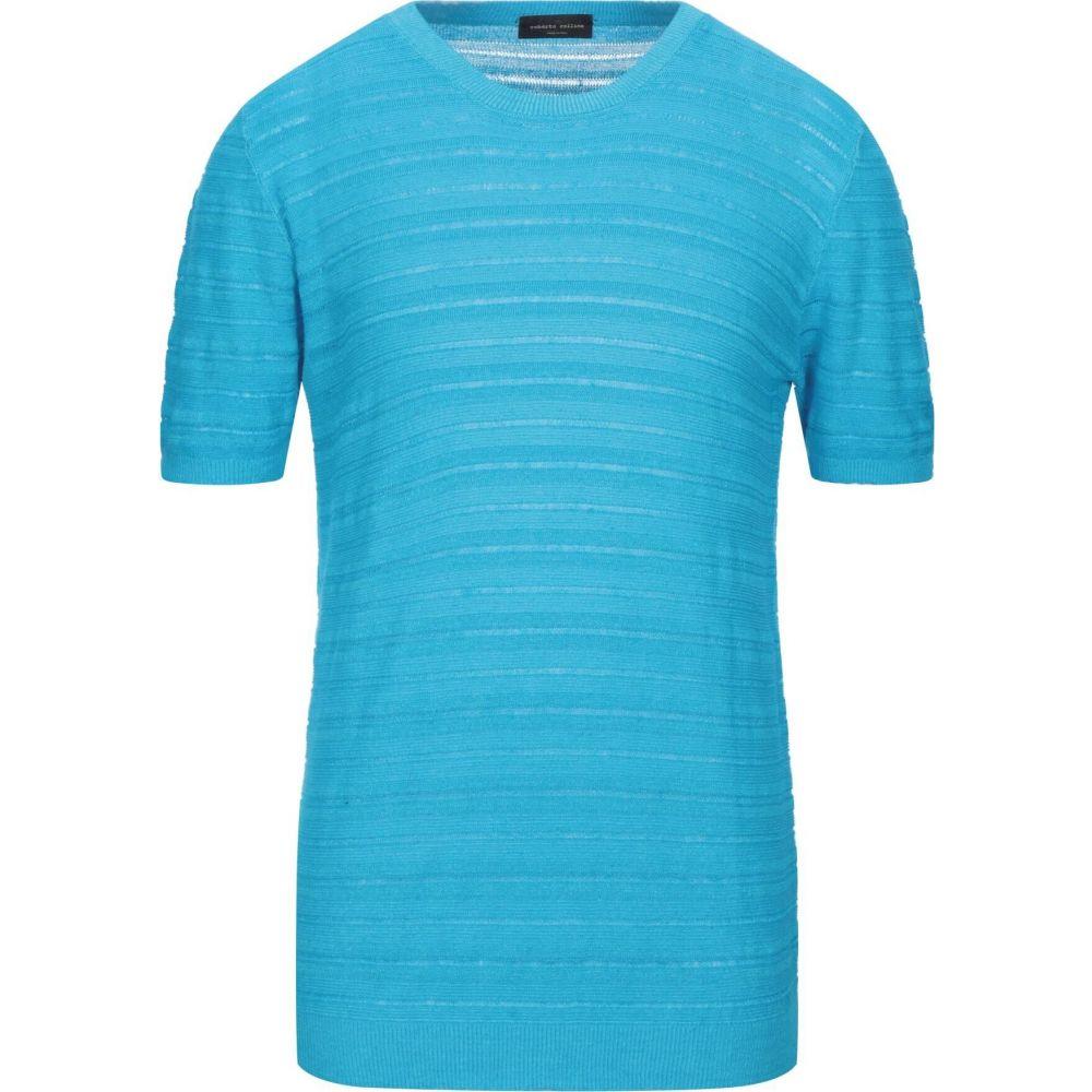 トップス【sweater】Azure ROBERTO ロベルトコリーナ メンズ ニット・セーター COLLINA