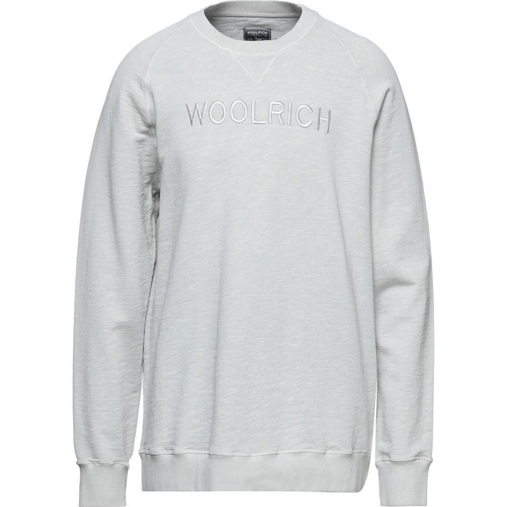 ウールリッチ メンズ トップス スウェット ついに再販開始 トレーナー sweatshirt サイズ交換無料 Light WOOLRICH 高級品 grey