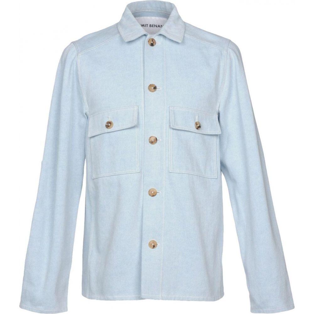 <title>新作多数 ウミット ベナン メンズ トップス シャツ Blue サイズ交換無料 UMIT BENAN デニム denim shirt</title>