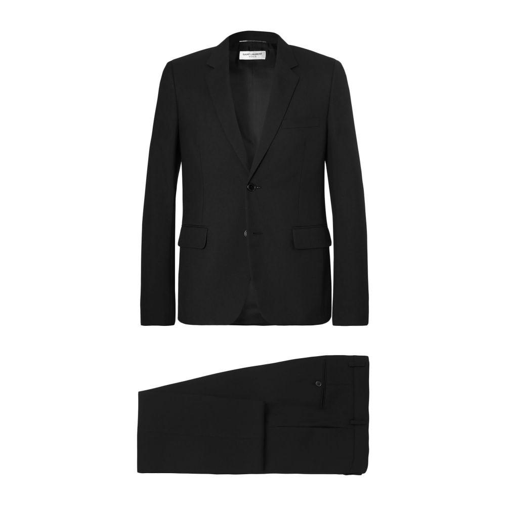 イヴ サンローラン メンズ アウター スーツ ジャケット SAINT サイズ交換無料 送料無料 激安 お買い得 キ゛フト 特売 Black Suit LAURENT
