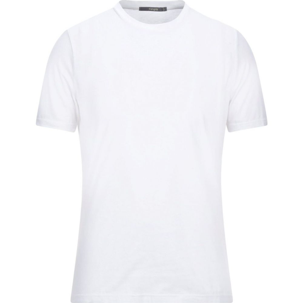 カングラ 即出荷 カシミア 卓越 メンズ トップス Tシャツ t-shirt KANGRA サイズ交換無料 CASHMERE White