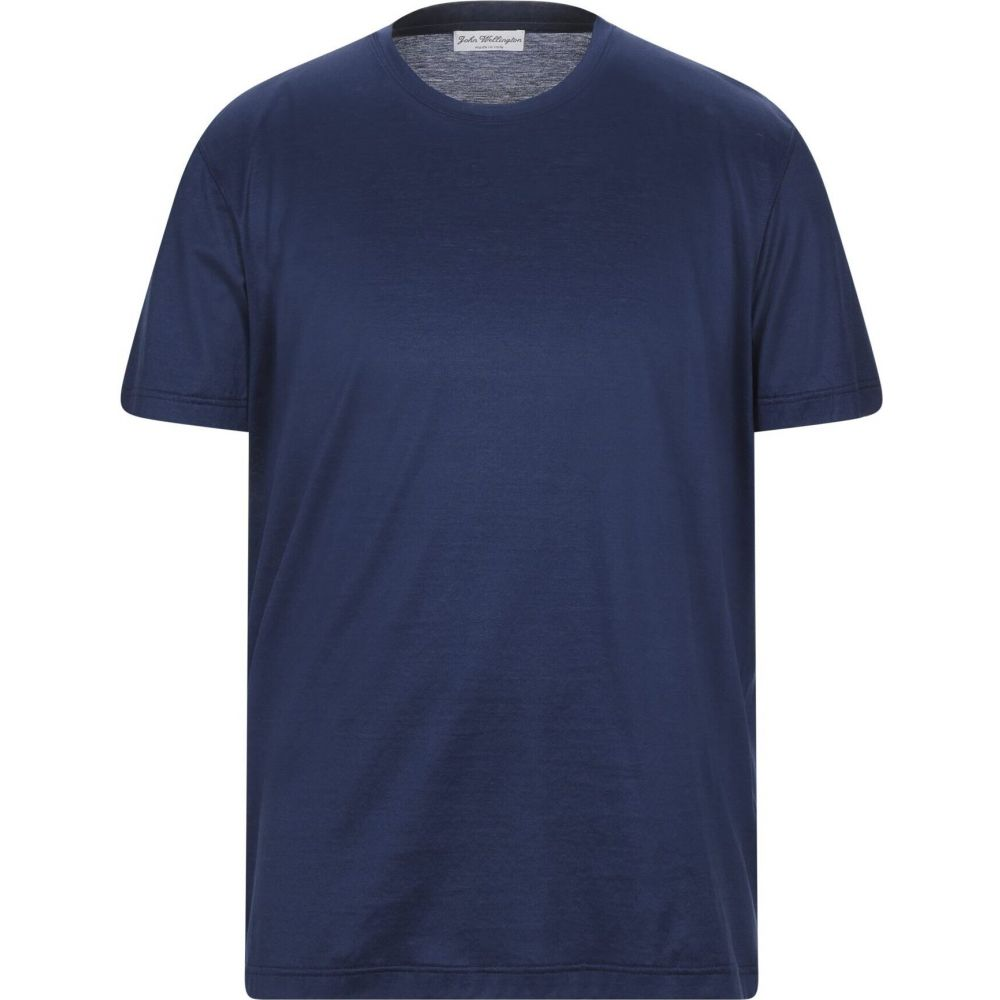 ジョン ウェリントン メンズ トップス 定番スタイル Tシャツ Dark blue t-shirt JOHN 予約販売品 WELLINGTON サイズ交換無料
