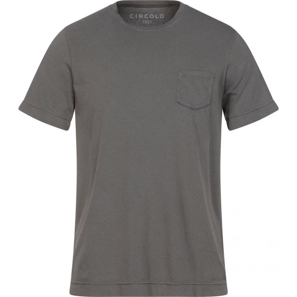 チルコロ1901 メンズ 爆売り トップス 新品 送料無料 Tシャツ Lead 1901 CIRCOLO t-shirt サイズ交換無料