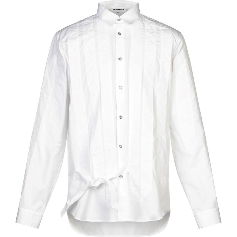 <title>ジル サンダー メンズ トップス シャツ White サイズ交換無料 JIL SANDER 商舗 solid color shirt</title>