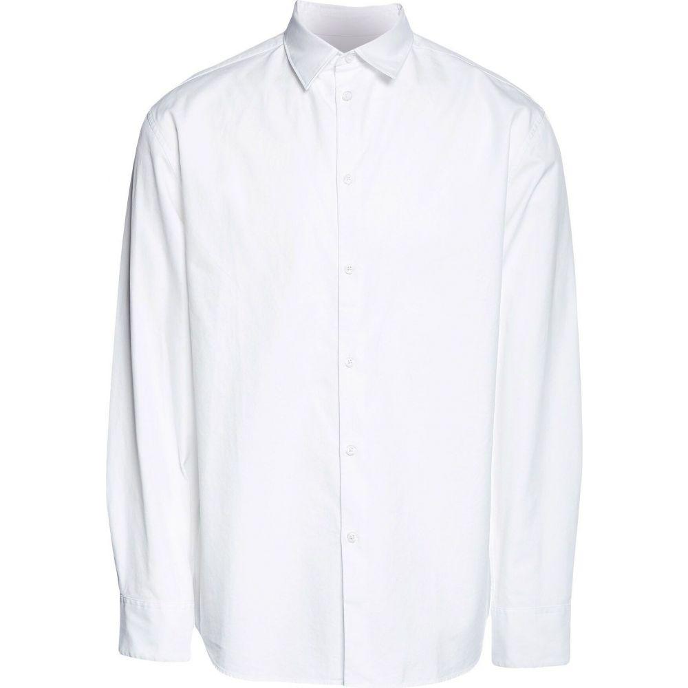 ケンゾー KENZO メンズ シャツ トップス【solid color shirt】White