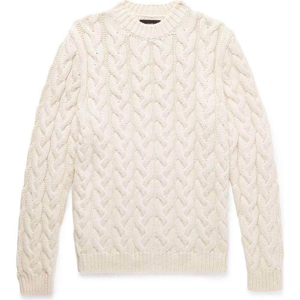 <title>アラヌイ 店内限界値引き中&セルフラッピング無料 メンズ トップス ニット セーター Ivory サイズ交換無料 ALANUI sweater</title>