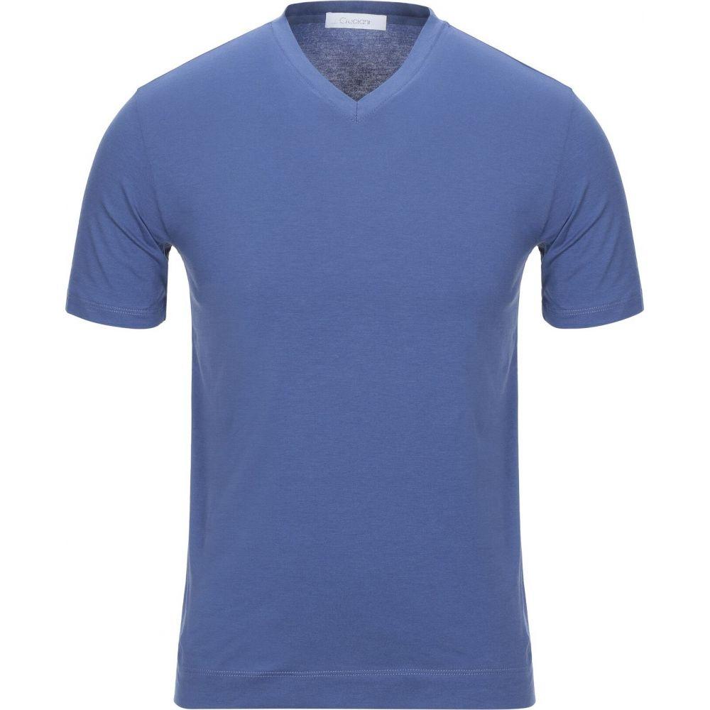 クルチアーニ CRUCIANI メンズ Tシャツ トップス【t-shirt】Pastel blue