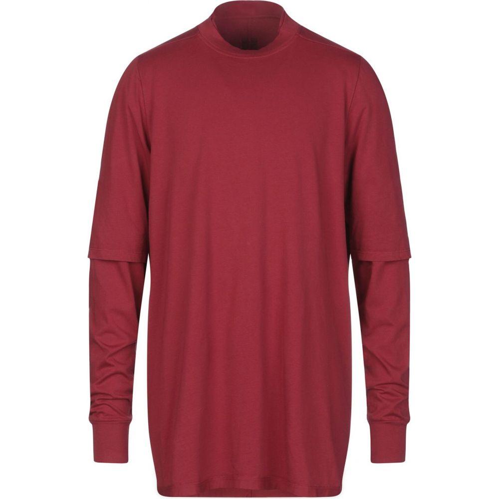 ダークシャドウ DRKSHDW by RICK OWENS メンズ Tシャツ トップス t-shirt Red 誕生日 年末年始のご挨拶 夏祭り ひな祭り 敬老の日 特価