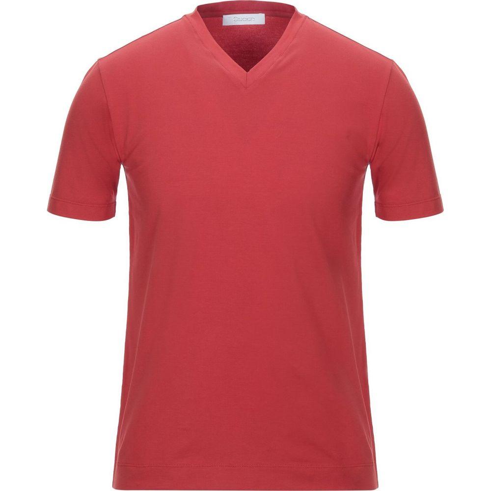 クルチアーニ CRUCIANI メンズ Tシャツ トップス【t-shirt】Red