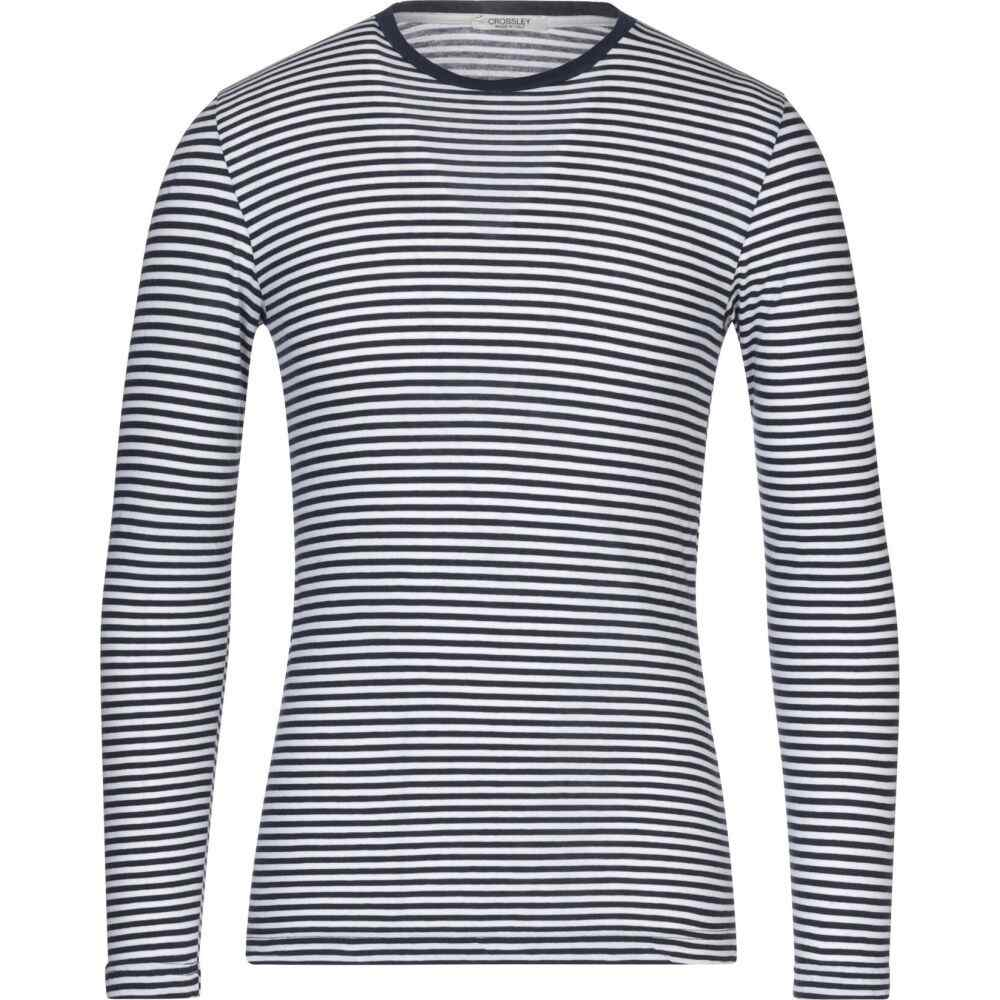 クロスリー CROSSLEY メンズ Tシャツ トップス【t-shirt】Dark blue