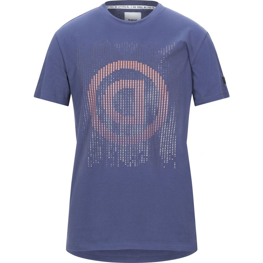 デジグアル DESIGUAL メンズ Tシャツ トップス【t-shirt】Blue