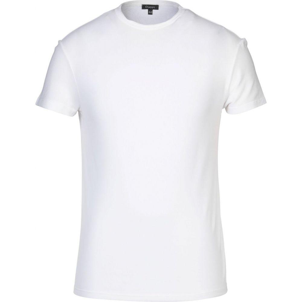 クルチアーニ CRUCIANI メンズ Tシャツ トップス【t-shirt】White