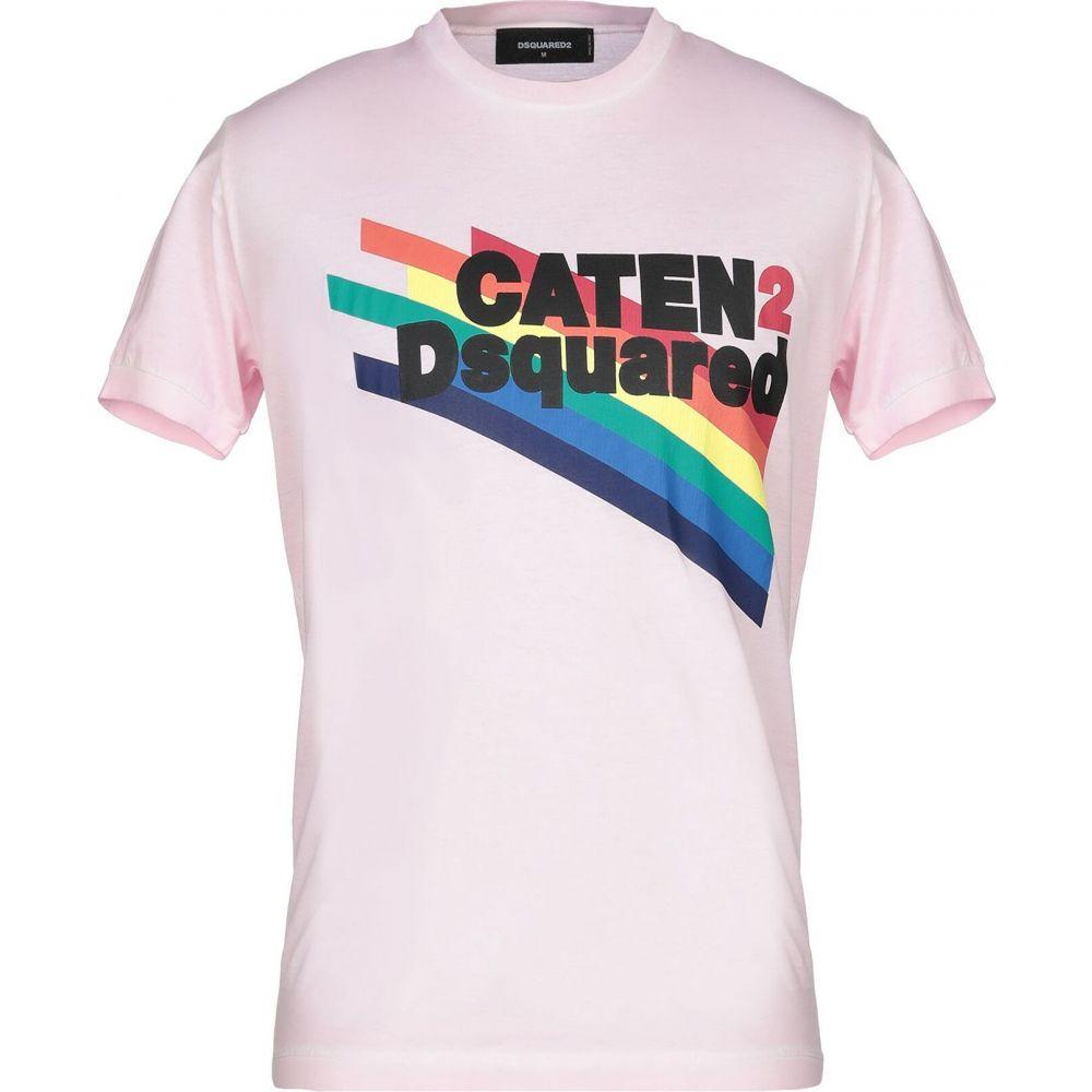 ディースクエアード DSQUARED2 メンズ Tシャツ トップス【t-shirt】Pink