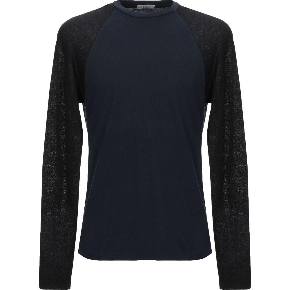 クロスリー CROSSLEY メンズ Tシャツ トップス【t-shirt】Blue