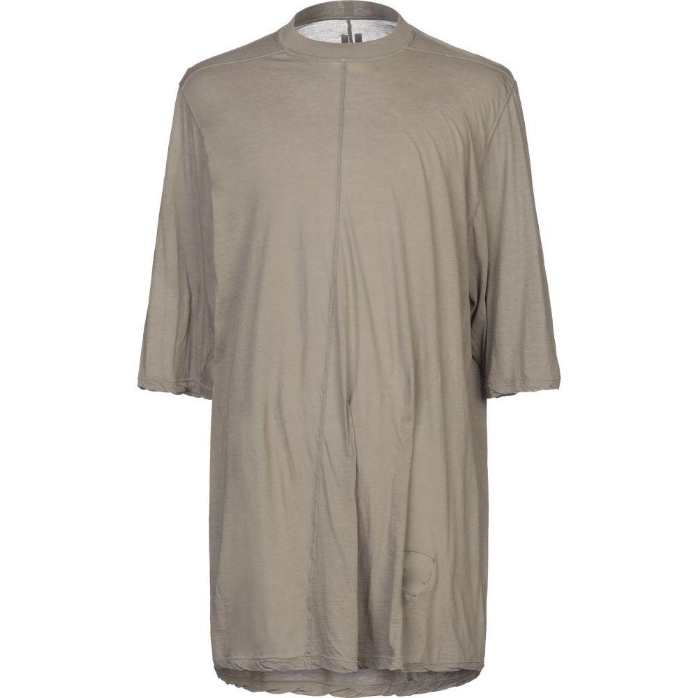 ダークシャドウ DRKSHDW by RICK OWENS メンズ Tシャツ トップス【t-shirt】Dove grey