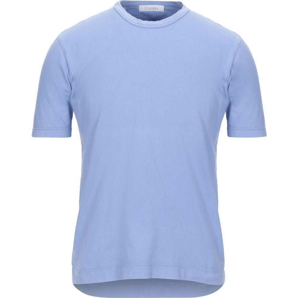 クルチアーニ CRUCIANI メンズ Tシャツ トップス【t-shirt】Sky blue