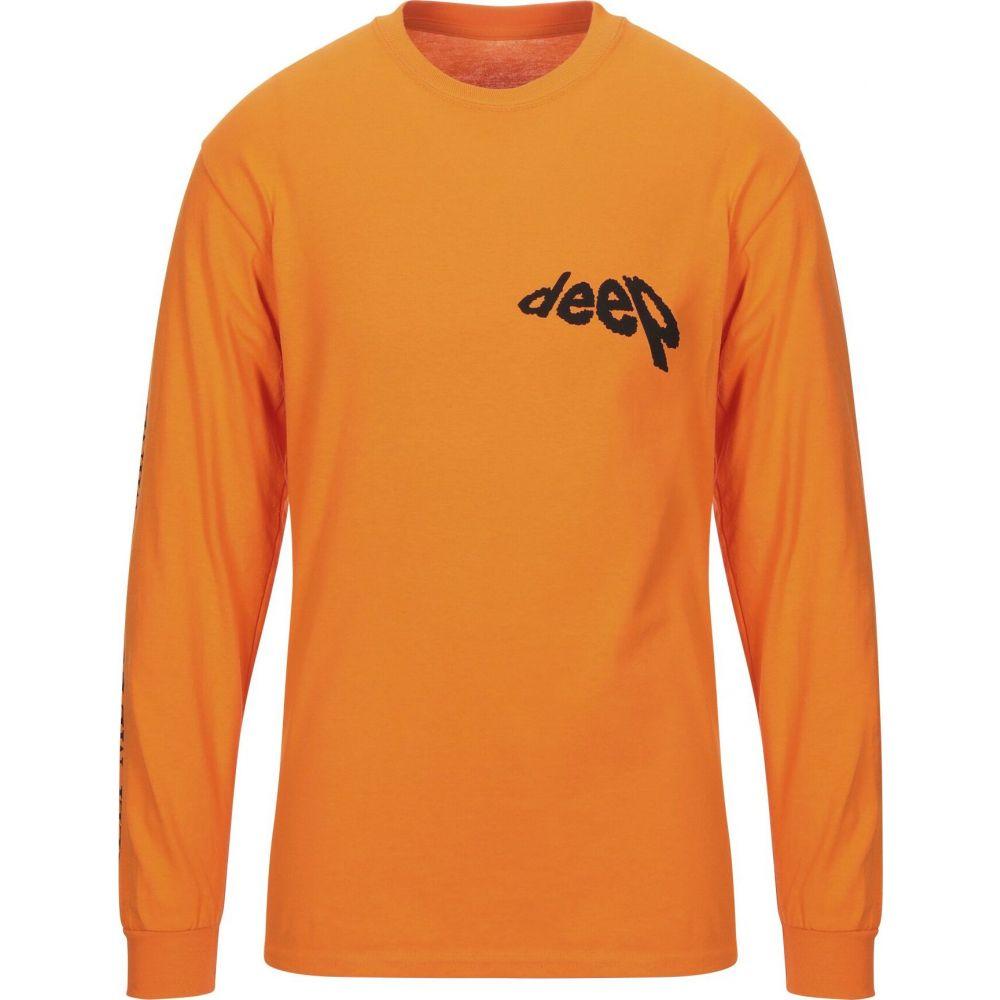 ダーコベリ DARKOVELI メンズ Tシャツ トップス【t-shirt】Orange