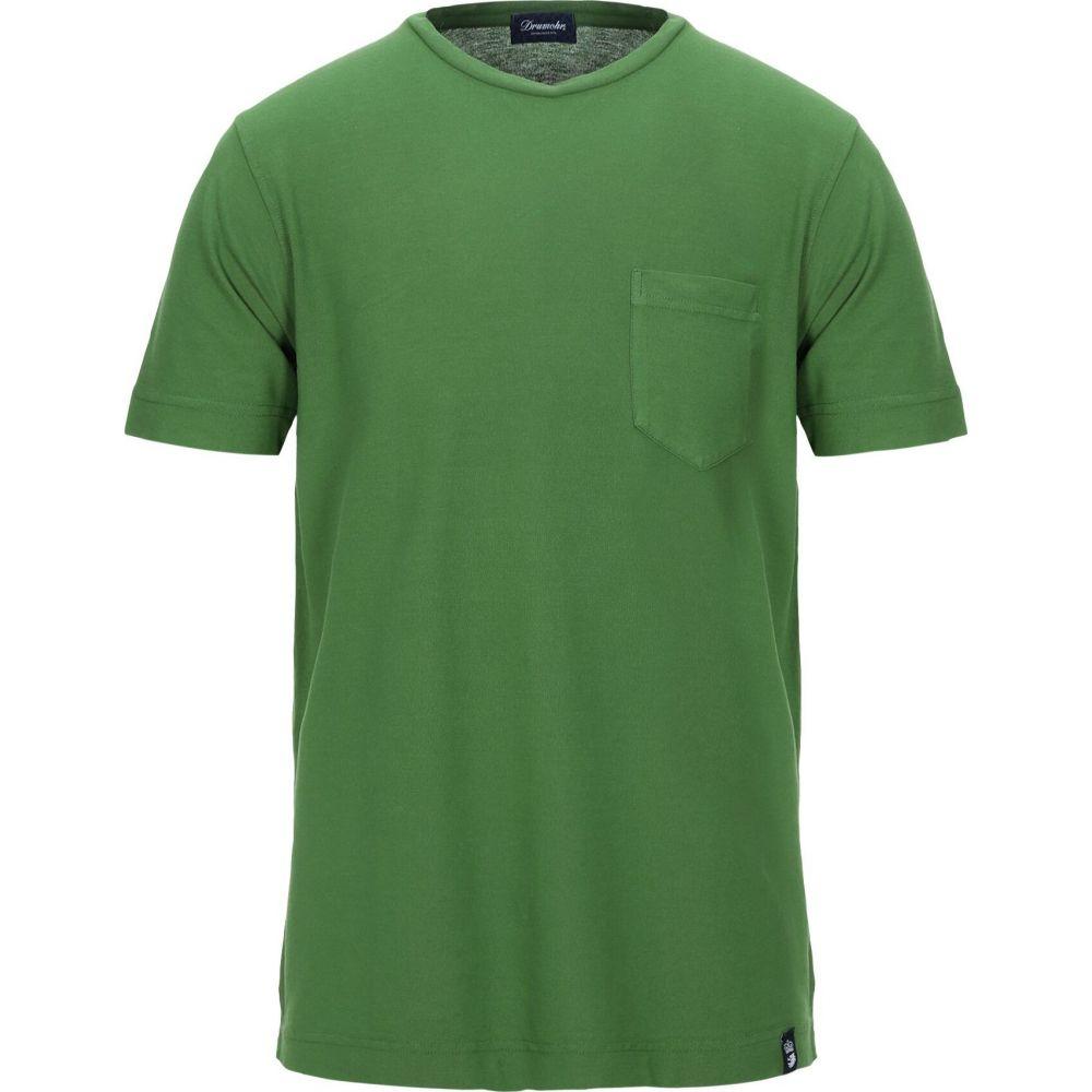 ドルモア DRUMOHR メンズ Tシャツ トップス【t-shirt】Green