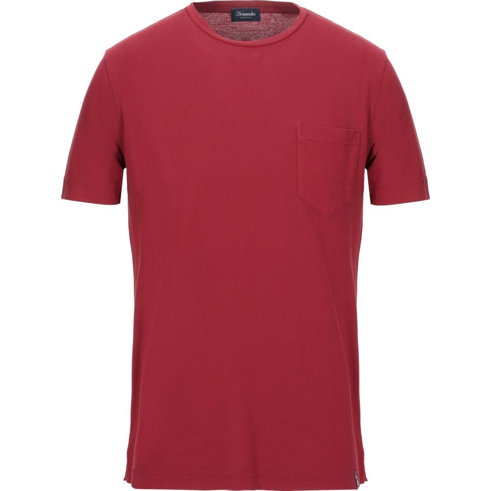 ドルモア DRUMOHR メンズ Tシャツ トップス【t-shirt】Maroon