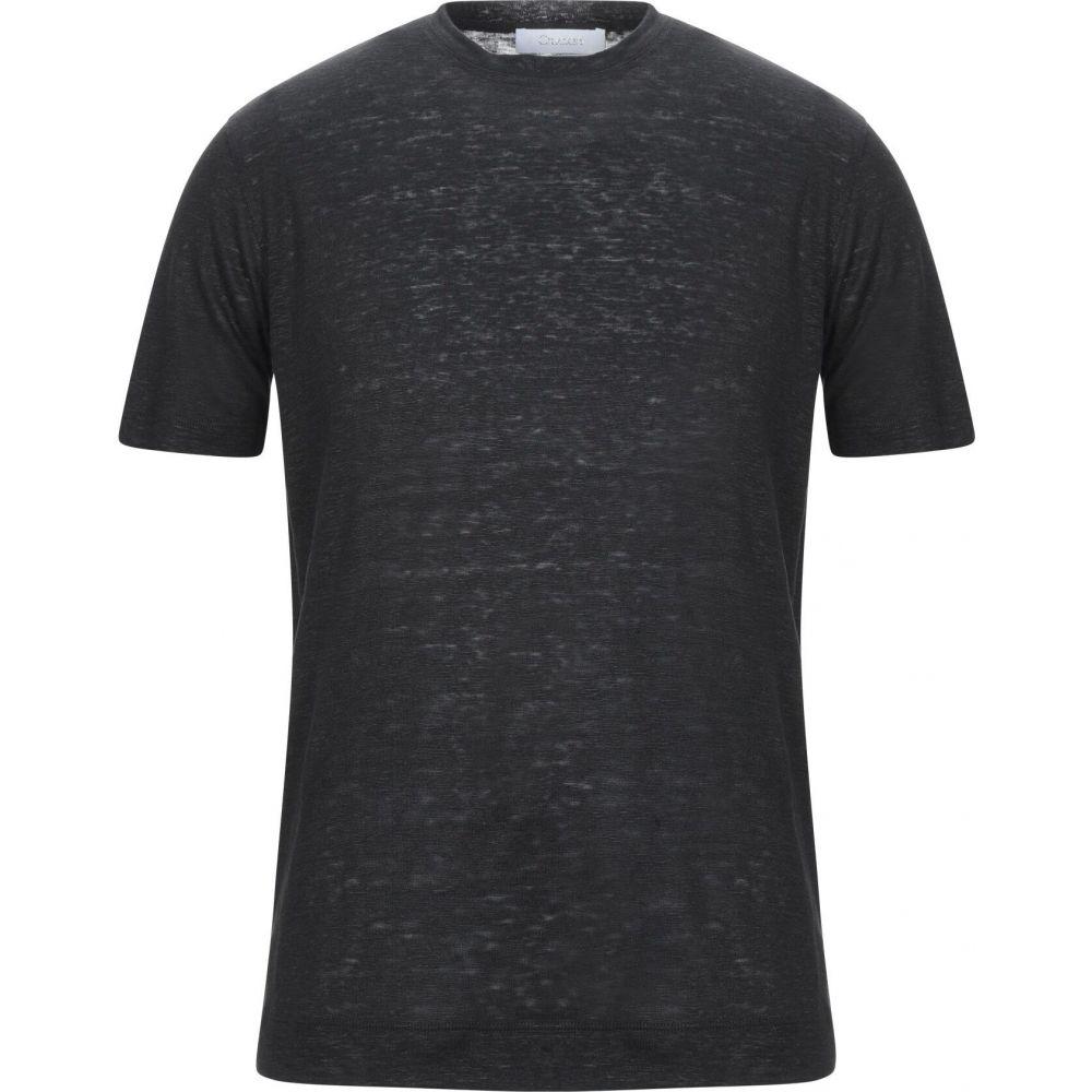 クルチアーニ CRUCIANI メンズ Tシャツ トップス【t-shirt】Black