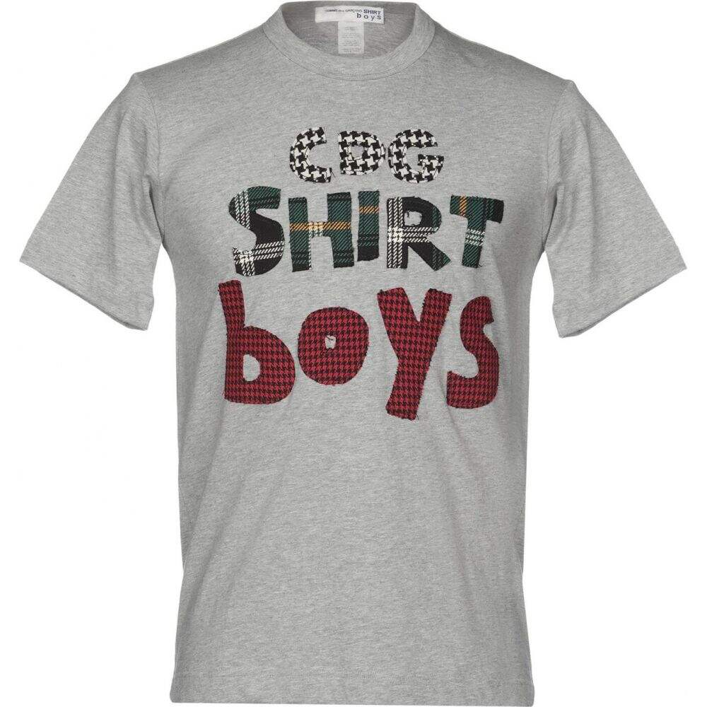 コム デ ギャルソン COMME des GARCONS SHIRT メンズ Tシャツ トップス【t-shirt】Light grey