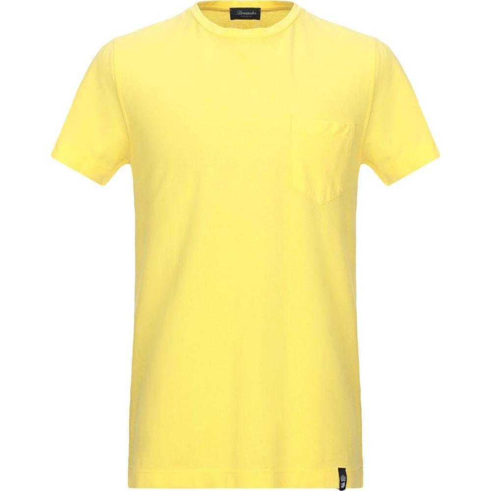 ドルモア DRUMOHR メンズ Tシャツ トップス【t-shirt】Yellow
