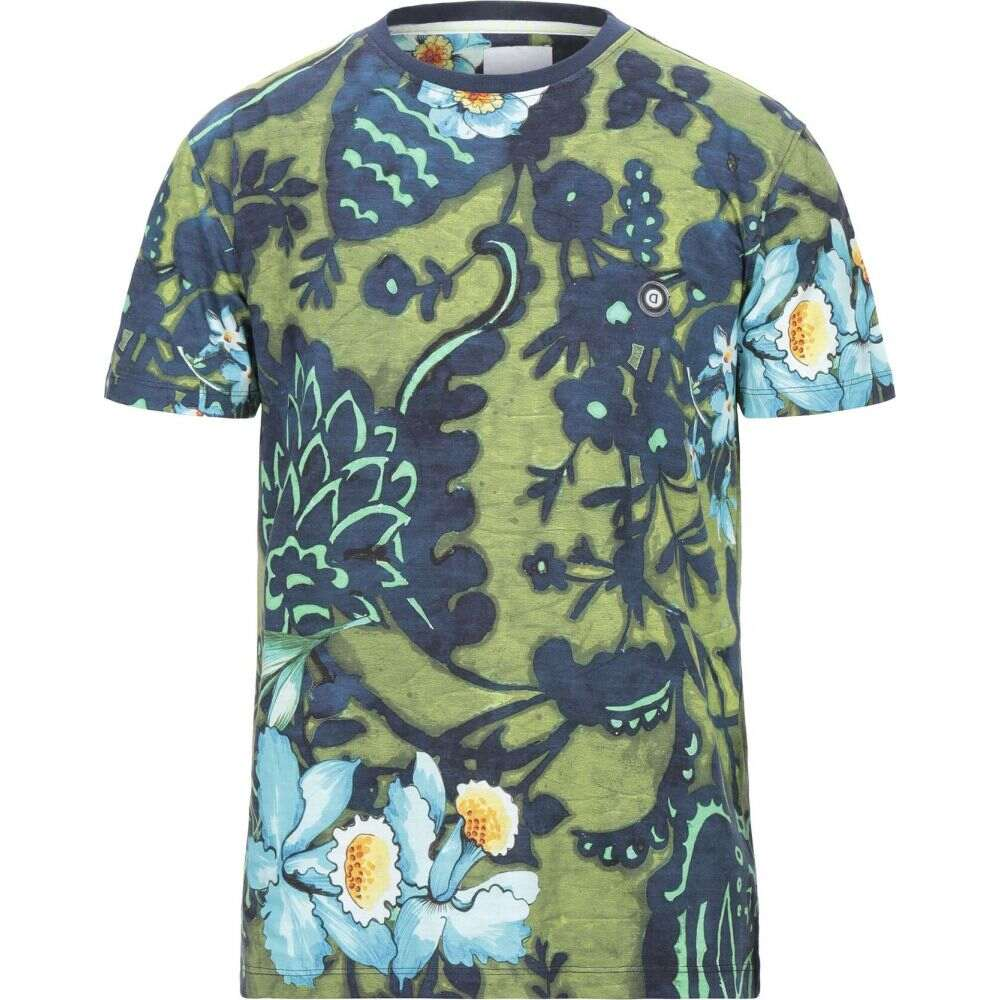 デジグアル DESIGUAL メンズ Tシャツ トップス【t-shirt】Light green